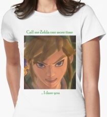 Call me Zelda one more time Women's Fitted T-Shirt
