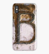 B iPhone Case/Skin