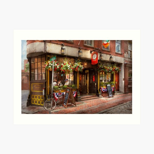 City - Boston MA - The Green Dragon Tavern Art Print