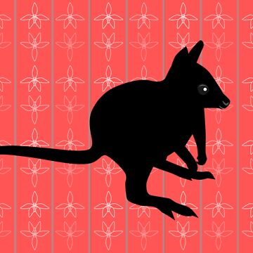 Australian wallaby card by animatorgurl