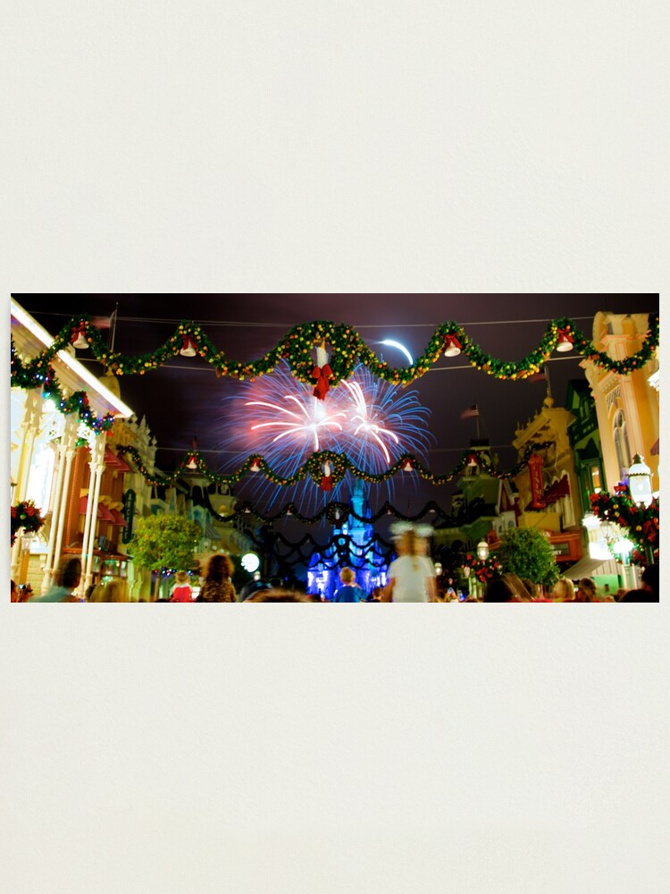 Alternate view of Blue Christmas Photographic Print