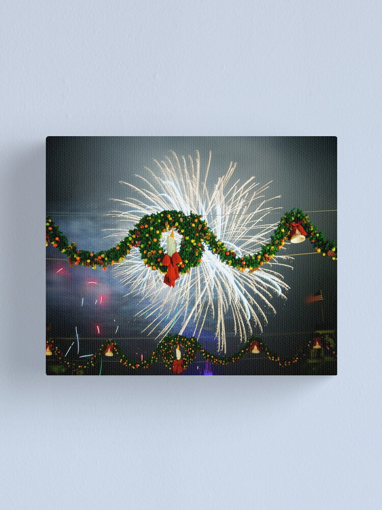 Alternate view of Boom Goes Christmas Canvas Print