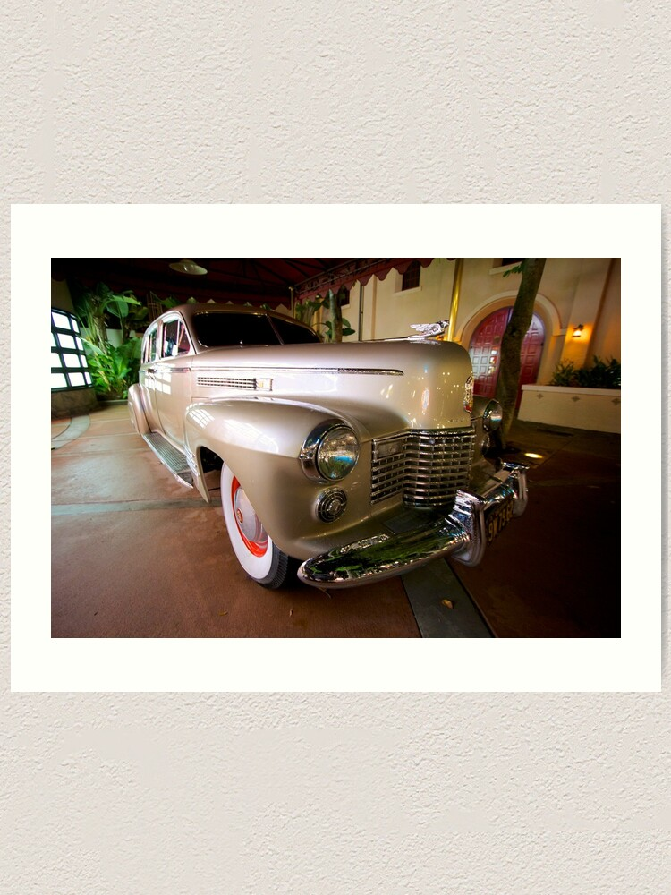 Alternate view of Ride to Classic Hollywood Art Print