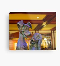 A Lady and Her Tramp Metal Print