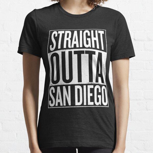 Straight outta San Diego California USA design Essential T-Shirt