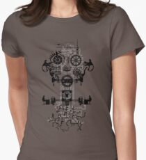 Ghost In The Machine Women's Fitted T-Shirt