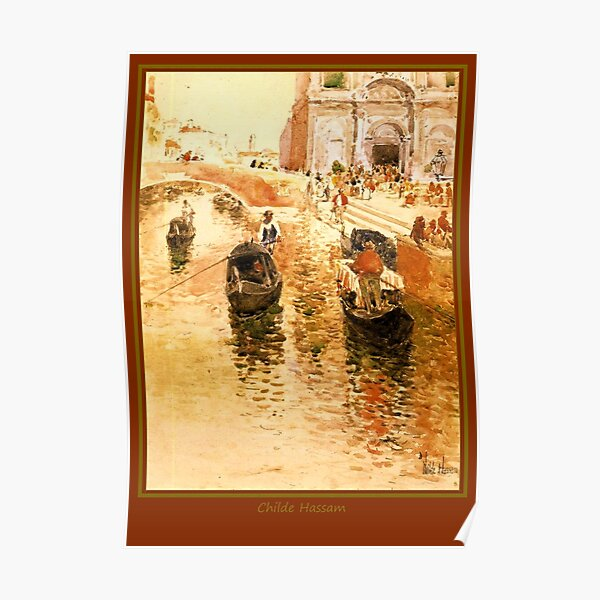 Gondoliers Poster