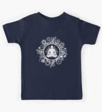 Inner Being - white silhouette Kids Clothes