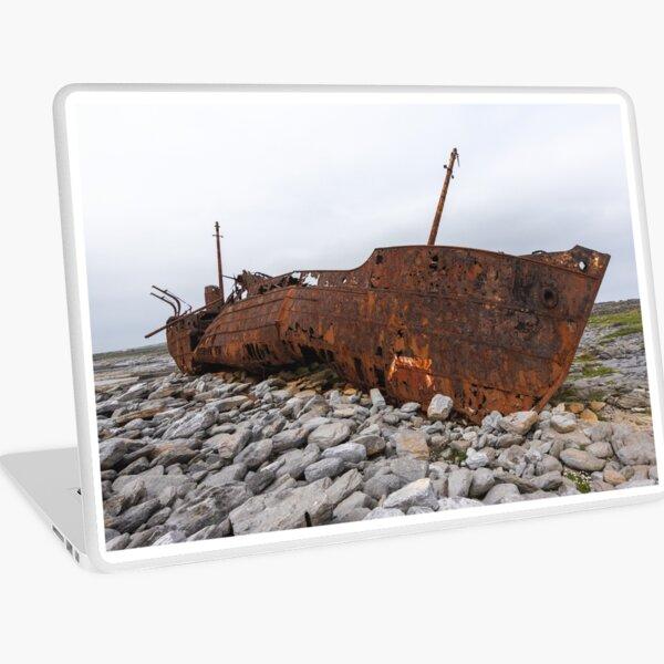 The Plassey Shipwreck Laptop Skin