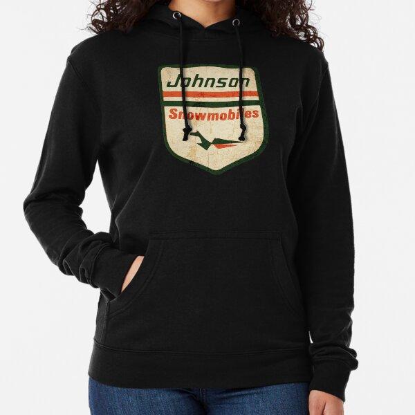 Johnson skee  Horse Vintage Snowmobiles USA Lightweight Hoodie