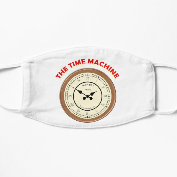 El reloj de la máquina del tiempo Mascarilla