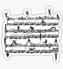Mozart Men Sticker