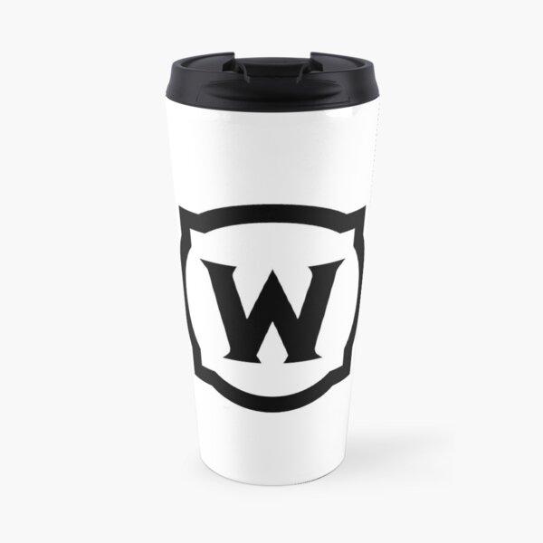 World of Warcraft Black Logo Travel Mug