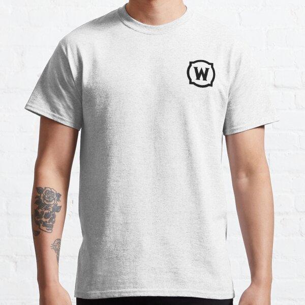 Logotipo negro de World of Warcraft Camiseta clásica