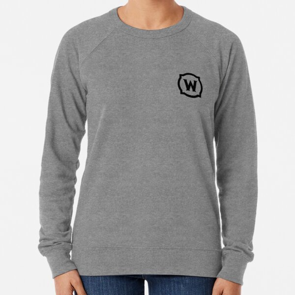 World of Warcraft Black Logo Sweatshirt léger