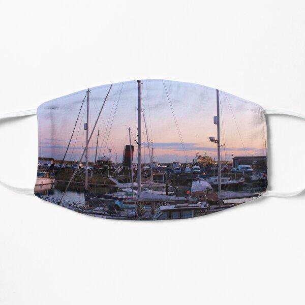 Sunset on the marina Mask