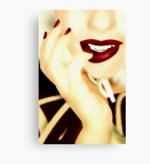 Who's the Fairest of Them All? Canvas Print