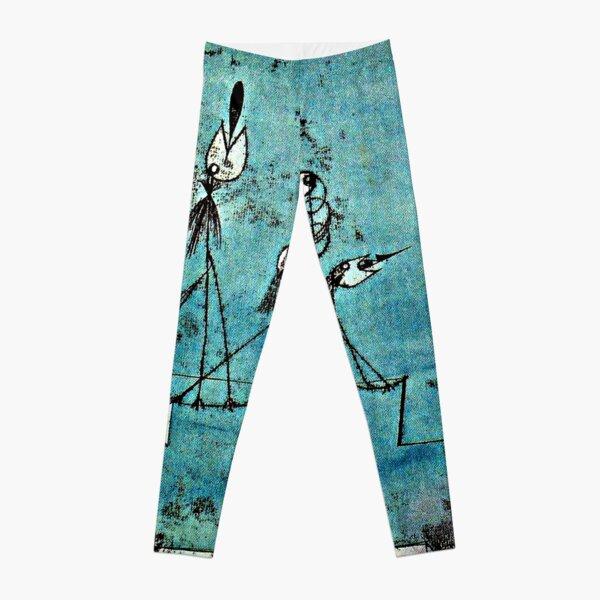 Paul Klee artwork, Twittering Machine Leggings