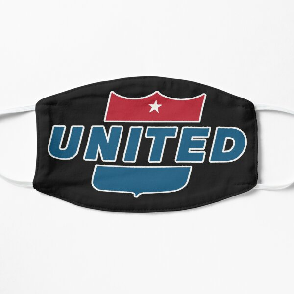Vintage United Airlines sign Mask