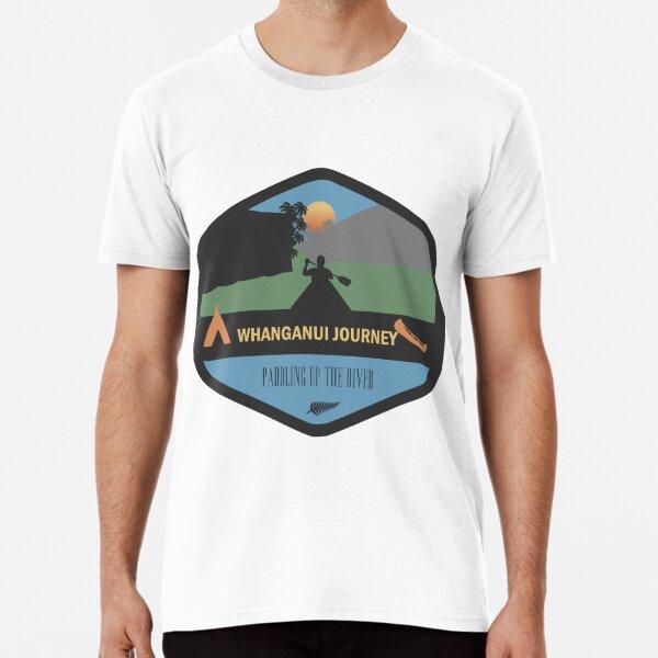 Whanganui Journey New Zealand Great Walk Premium T-Shirt