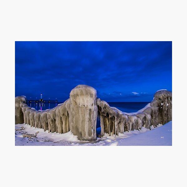 The Burlington Freeze Photographic Print