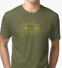 PADS OF JOY series - SNes Tri-blend T-Shirt