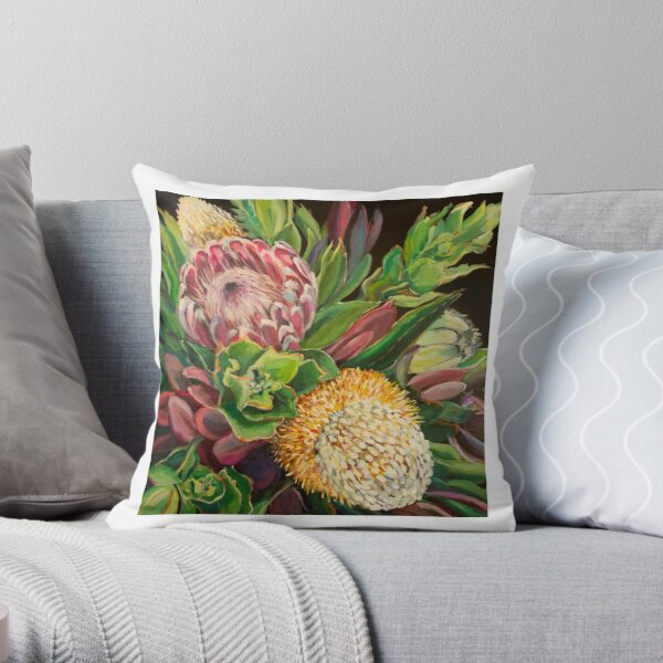 Royal Bliss Square Throw Pillow