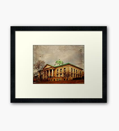 Sullivan County Court House Framed Print
