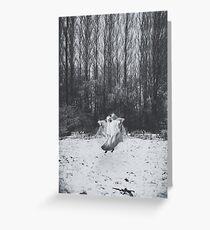 Ghost Dance. Greeting Card