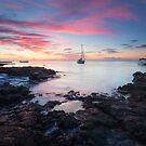 Blue Bay Dawn by Michael Breitung