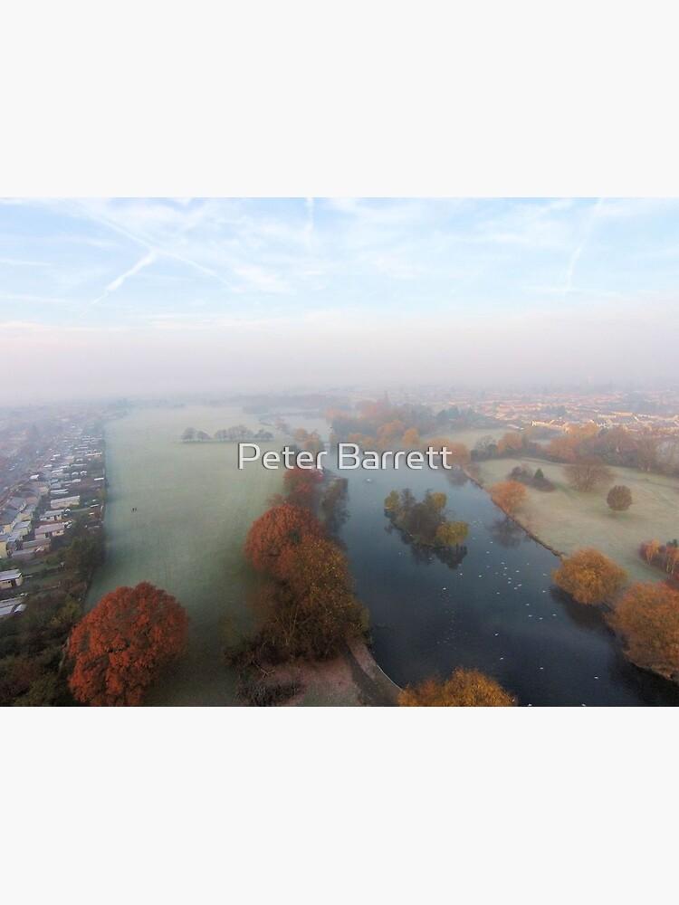 Harrowlodge Park in the mist 1 by hartrockets