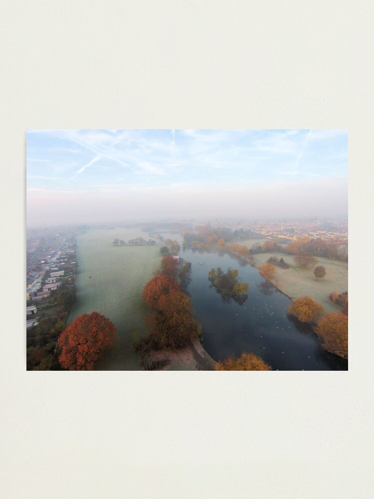 Alternate view of Harrowlodge Park in the mist 1 Photographic Print