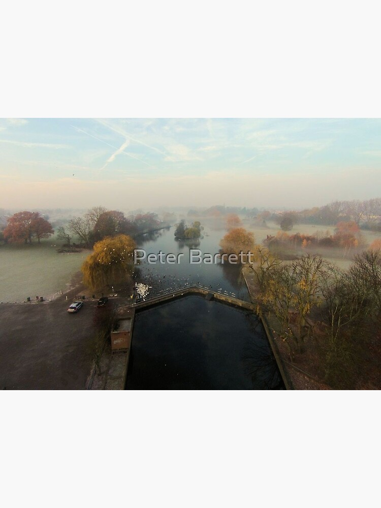 Harrowlodge Park in the mist 2 by hartrockets