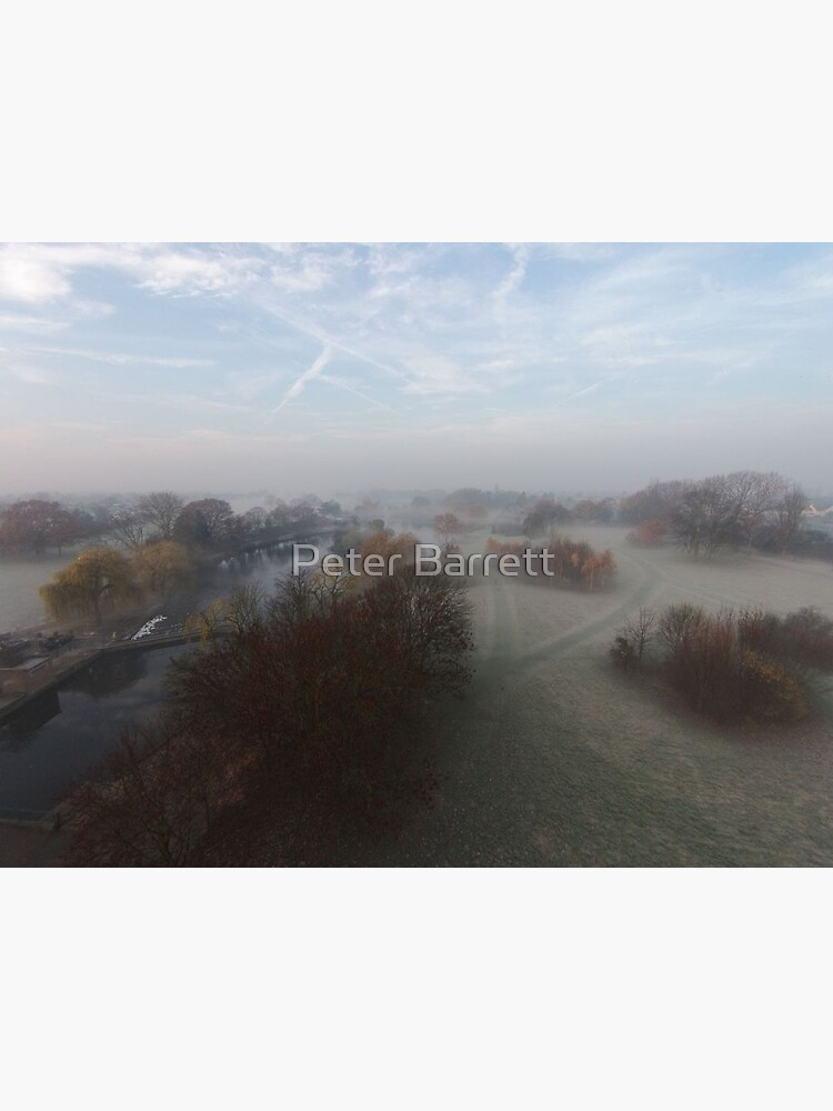 Harrowlodge Park in the mist 3 by hartrockets