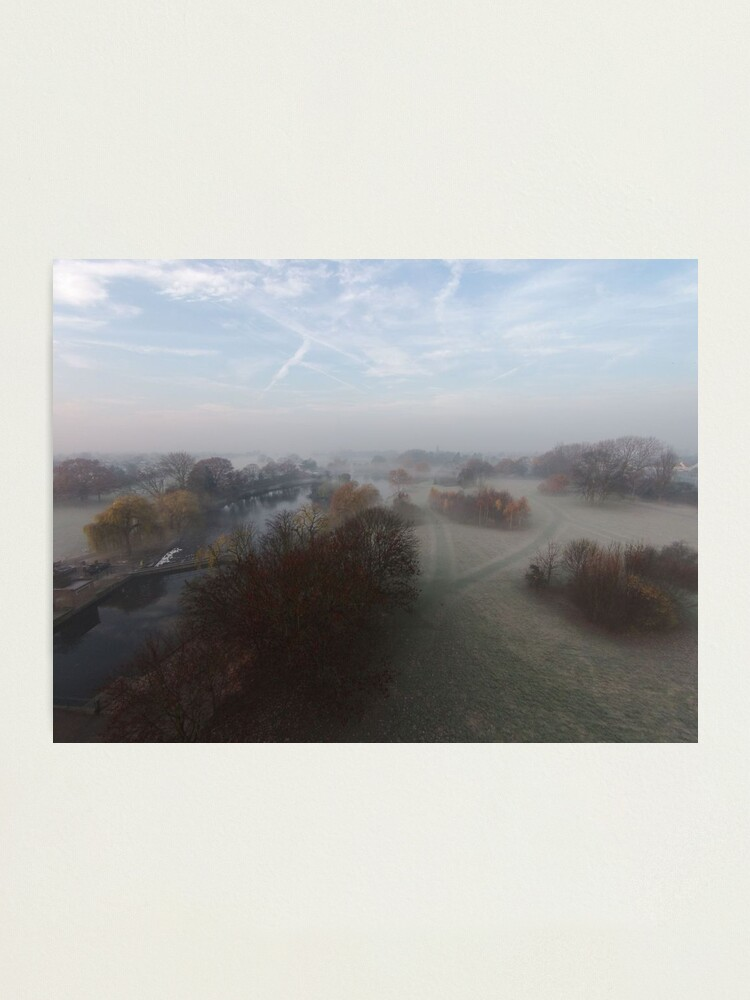 Alternate view of Harrowlodge Park in the mist 3 Photographic Print