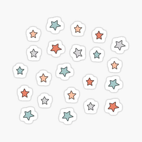 Aesthetic mini star pack Sticker