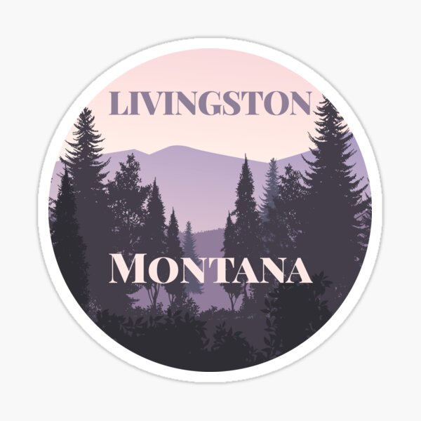 Livingston, Montana Sticker