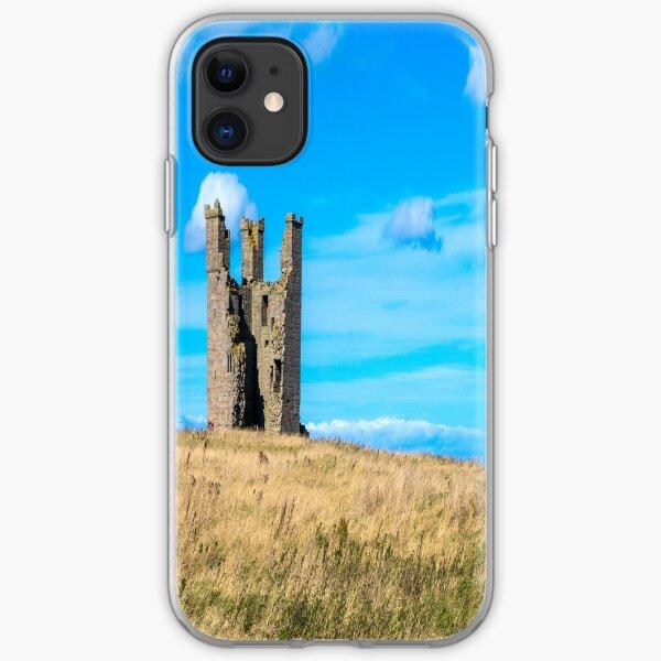 Dunstanburgh Castle Ruin Alnwick Northumberland iPhone Soft Case