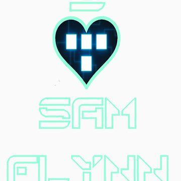 I Love Sam Flynn by banditcar