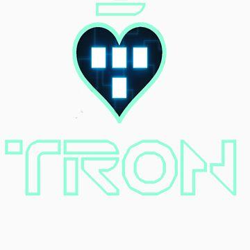 I Love Tron by banditcar