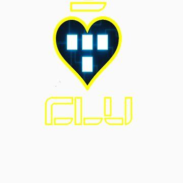 I Love CLU by banditcar