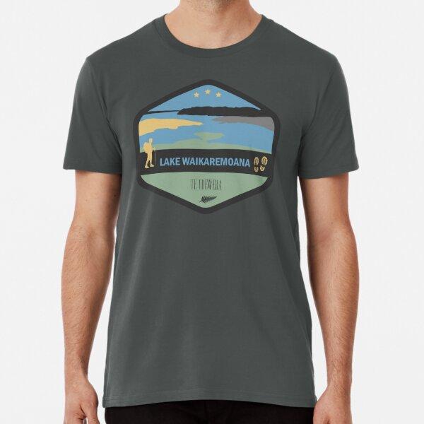 Lake  New Zealand Great Walk Premium T-Shirt
