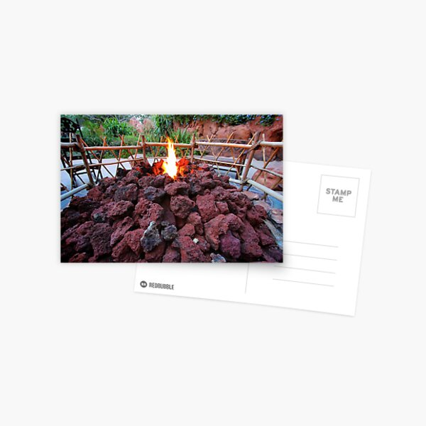 Gather by the Fire Postcard