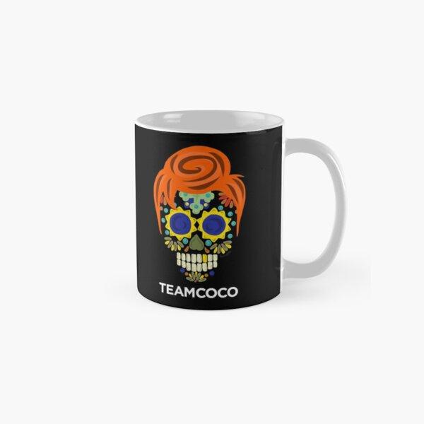 Team Coco Conan O'Brien Day Of The Dead Sugar Skull Classic Mug