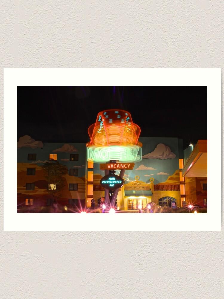 Alternate view of Dizzy Cone Motel Art Print