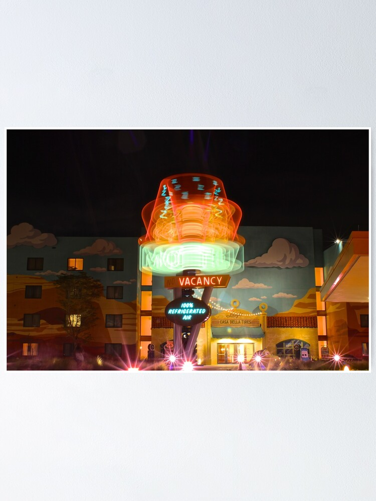 Alternate view of Dizzy Cone Motel Poster