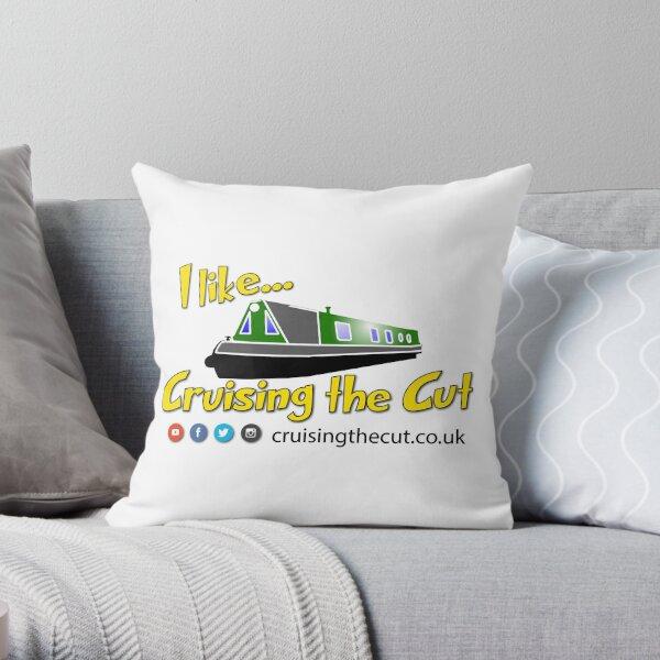 """I like Cruising The Cut"" Throw Pillow"