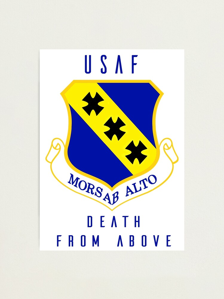 Alternate view of USAF - Death From Above Photographic Print