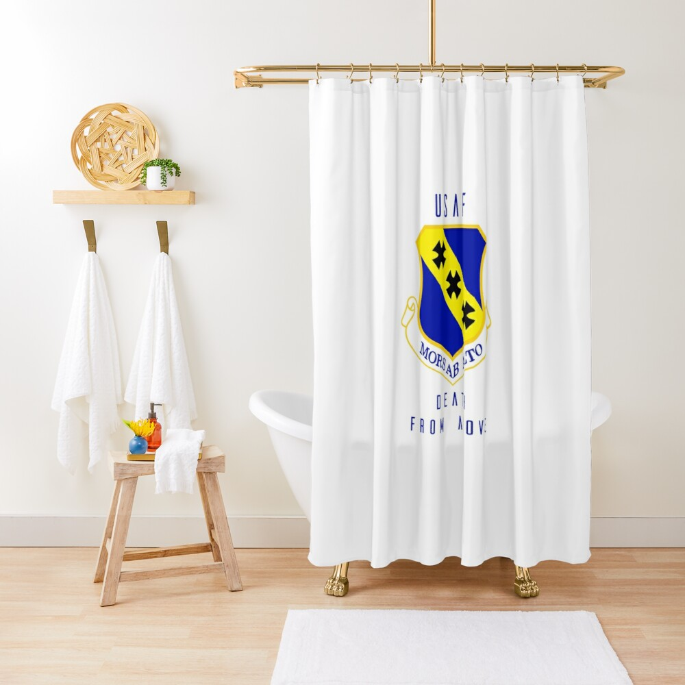 USAF - Death From Above Shower Curtain