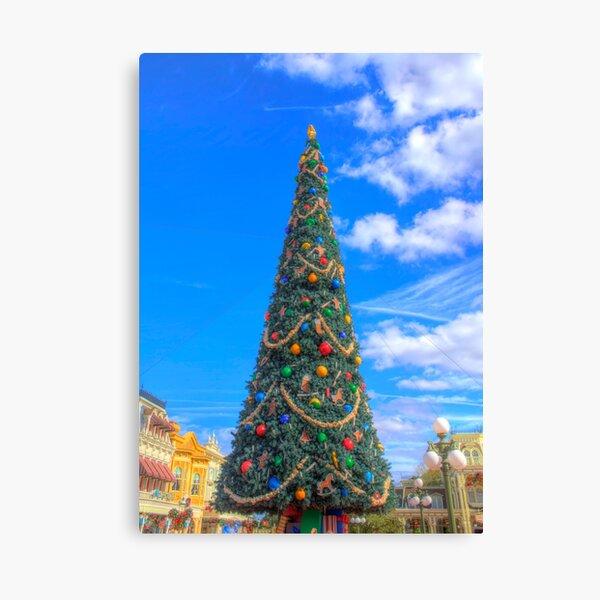 Merry Main Street Canvas Print